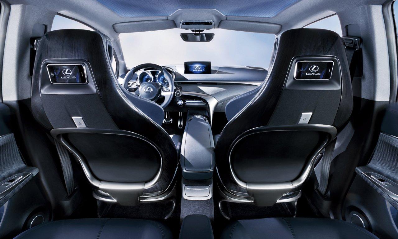 interior lexus lf ch